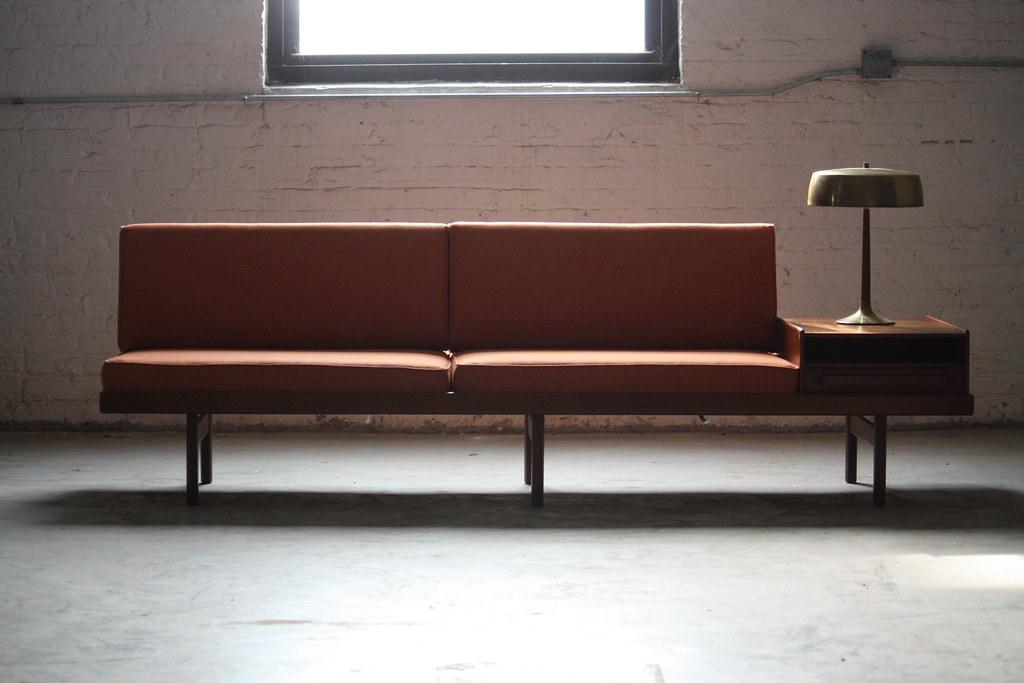 ... Memorable Scandinavian Mid Century Modern Karl Sorlie U0026 Sonner Modular  Teak Platform Sofa (Norway,