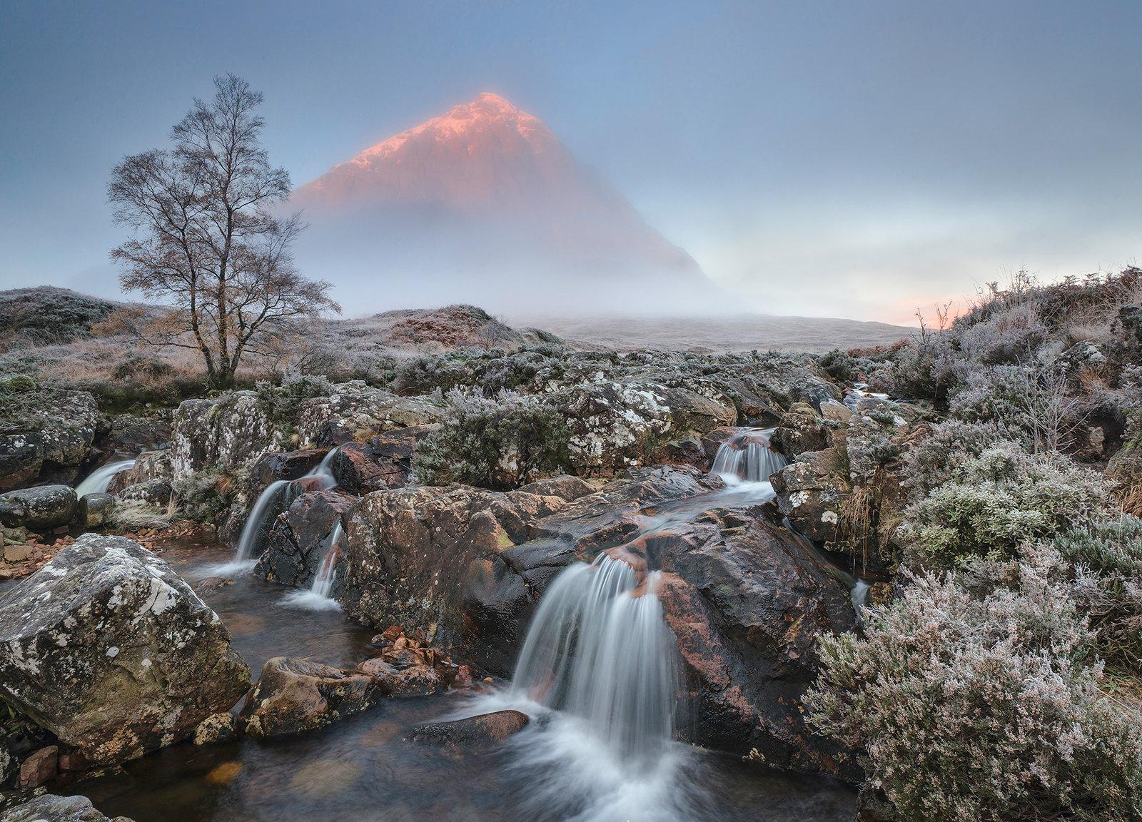 'Der erste Frost des Winters' - Buachaille Etive Mor