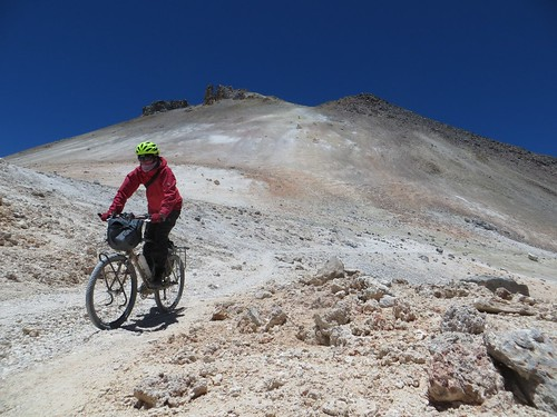 Descending Uturuncu | by Pikes On Bikes