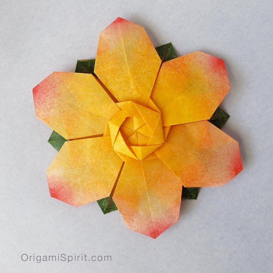 Origami flower david martinez youtube tutorial by leyla flickr origami flower david martinez by origami spirit mightylinksfo