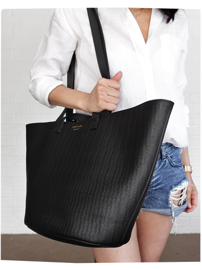 Summer Woven Bag by Meli Melo