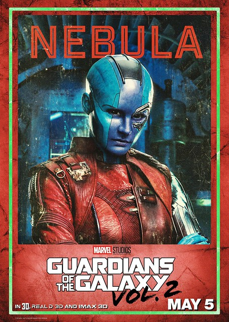 Guardians of the Galaxy Vol 2 (2017) poster Nebula