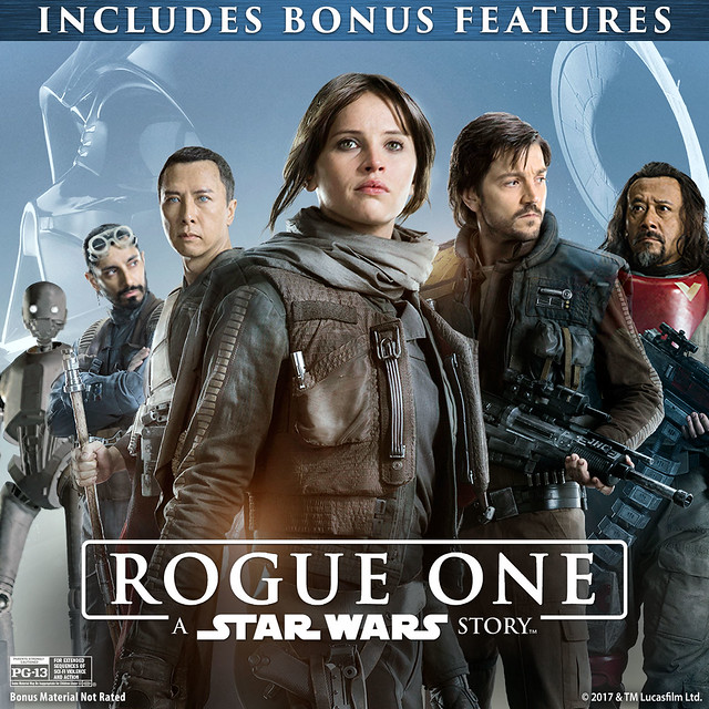 Rogue One: A Star Wars Story (plus Bonus Features)