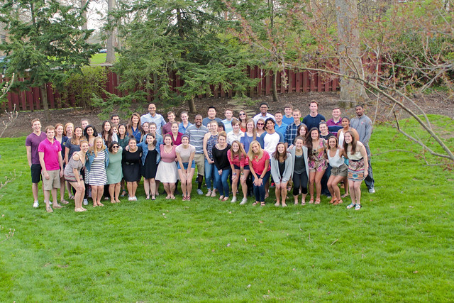 Senior Class Dinner at Rock's House