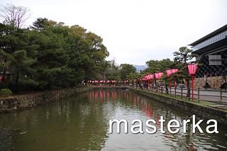高知城の堀