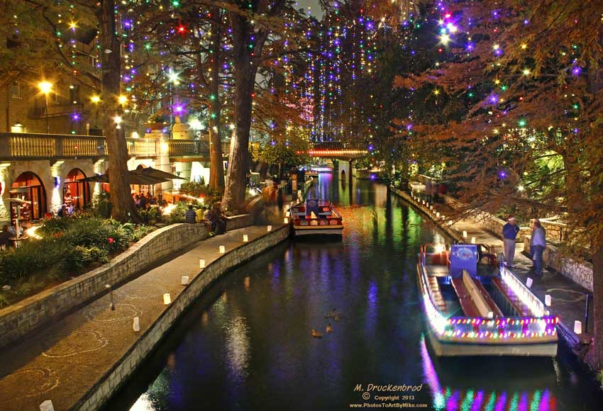 photostoartbymike christmas on the river walk by photostoartbymike - Christmas On The River