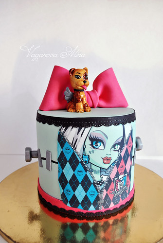 Frankie Stein Cake Topper Australia
