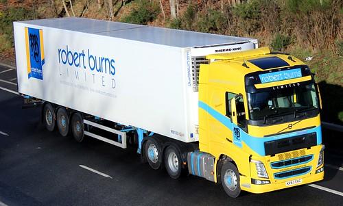 Volvo Fh Robert Burns Limited Broxburn West Lothian Flickr