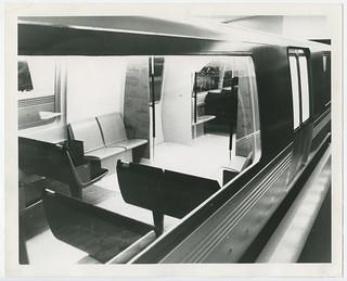 Bart Train Car Mockup December 10 1964 Bart Promotional Flickr