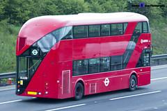 Wrightbus NRM NBFL - LTZ 1215 - LT215 - 357 EL Trade Plates - Luton M1 J10 - 140422 - Steven Gray - IMG_8105