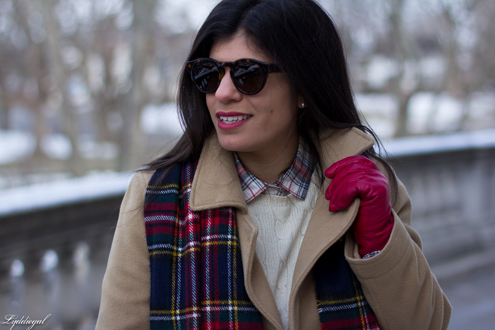 thrifted cashmere sweater, j.crew coat, plaid scarf, coach willis-6.jpg
