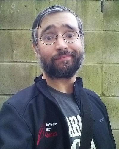 Me outside, with my Quora Top Writer 2017 jacket #toronto #me #selfie #quora #quoratopwriter #dovercourtvillage