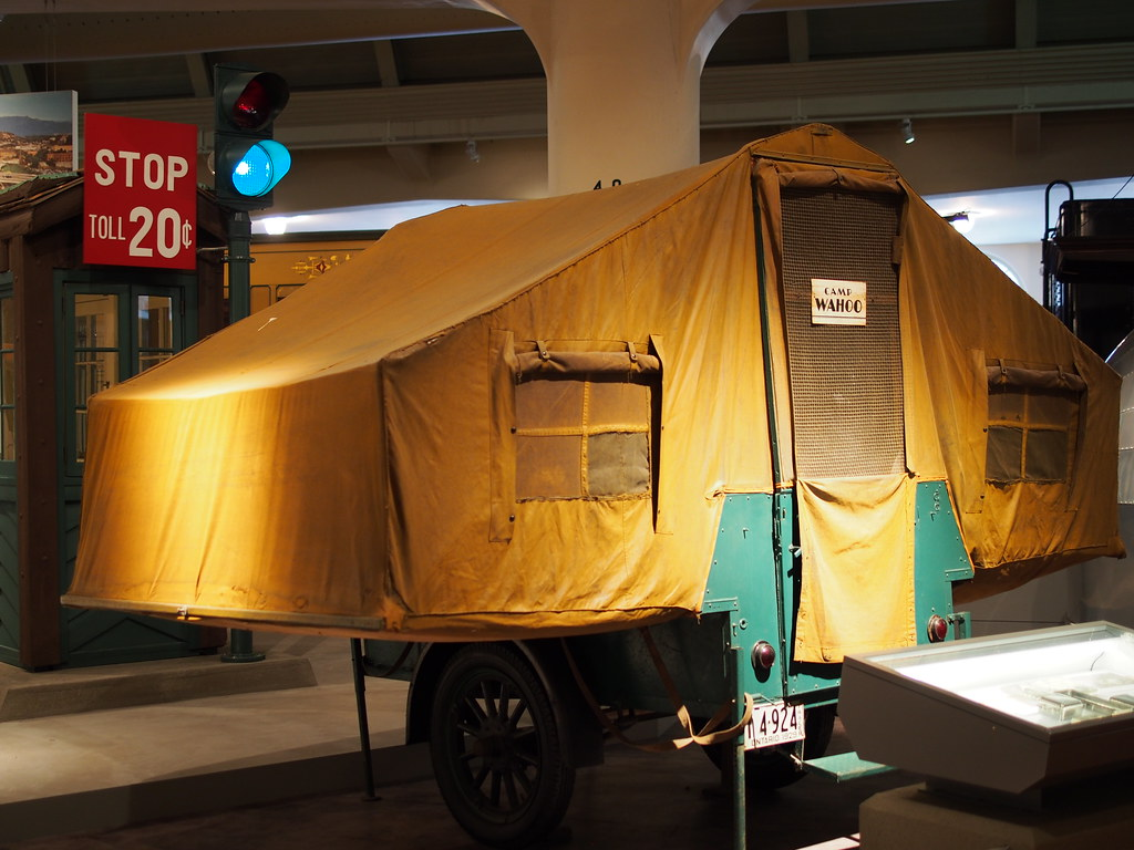 fold out tent trailer 1927 gilkie tent trailer flickr
