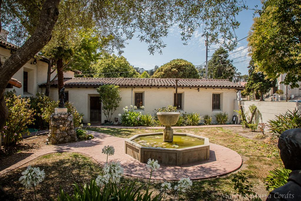 ... Mission Santa Cruz   Courtyard Gardens | By Margret Maria Cordts