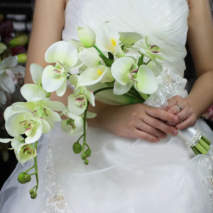 Brautstrauss Orchideen Callas Andrea Sturm Flickr
