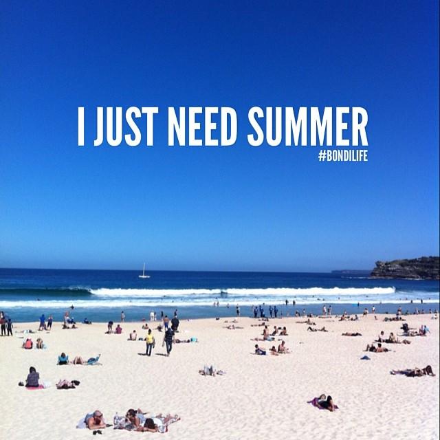 Charmant ... I Just Need Summer #bondilife #summer #beach #surf #sand #sun