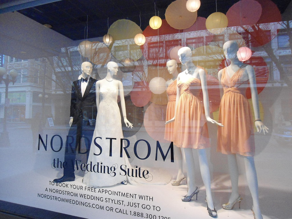 Nordstrom Downtown Seattle bright Color in January 2014 We… | Flickr