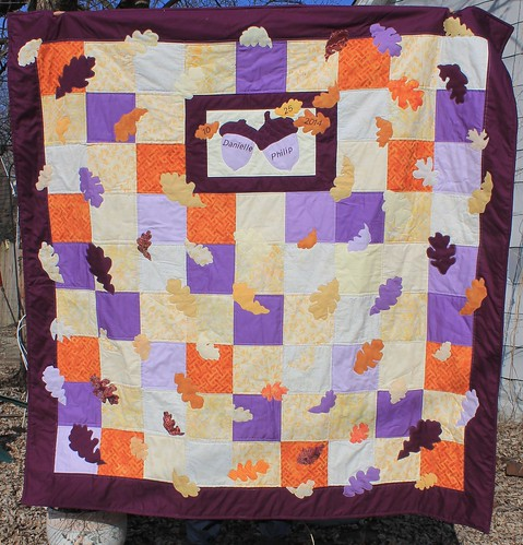 Purple Oak Leaf Quilt | by DanaK~WaterPenny
