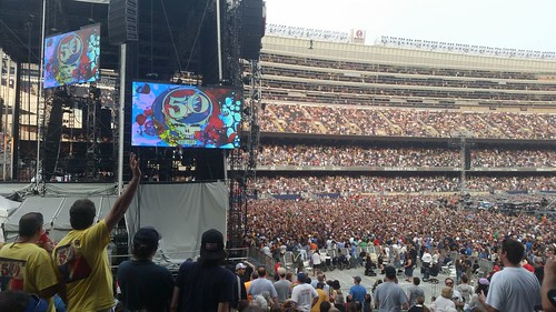 Grateful Dead Wrigley Field | by thegoddessandgrocer