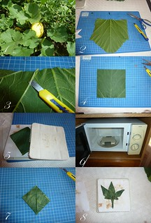 a way to fold a real leaf | by -sebl-