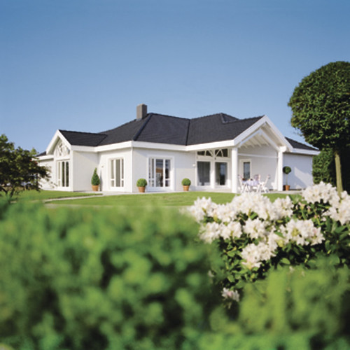 ein bungalow mit exclusivem wohnkonzept weberhaus fertigh flickr. Black Bedroom Furniture Sets. Home Design Ideas