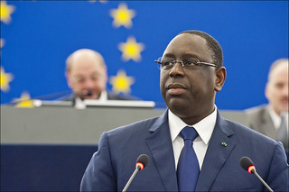 Senegal President, Macky Sall, addressed the EP plenary | by European Parliament