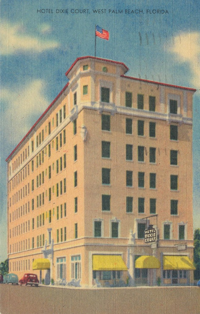 Hotel Dixie Court - West Palm Beach, Florida