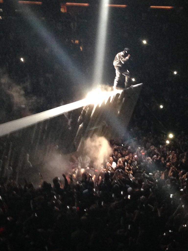 ... Kanye Westu0027s Yeezus Tour @ MSG | By Wallyg
