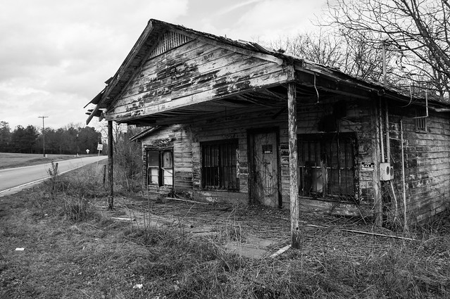 James Bloomer Williams and Sons Grocery - 2 (b&w)