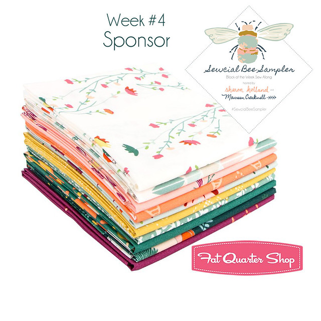 A Sewcial Bee GIVEAWAY with Fat Quarter Shop!