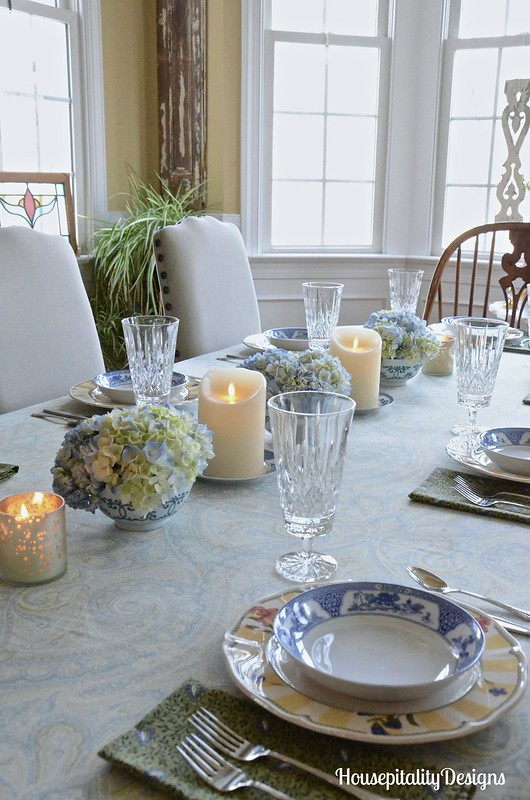 Hydrangea Table Setting-Housepitality Designs