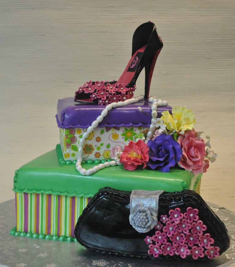 High Heels Shoes Purse Birthday CakeThe cakeZone Flori Flickr