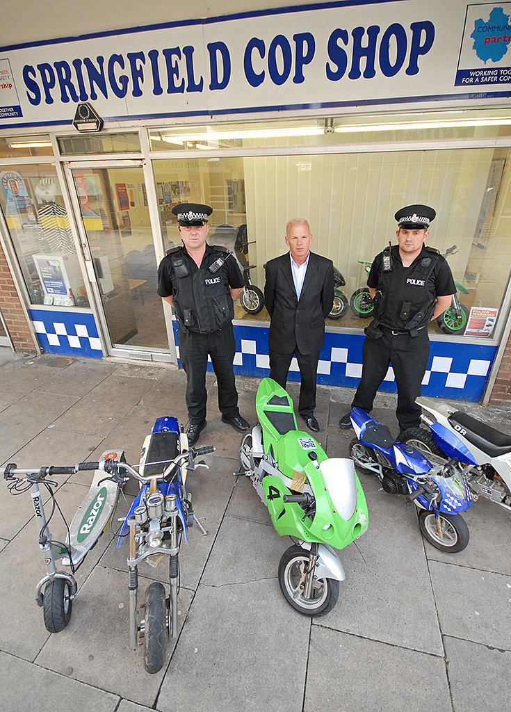 mini motos u ride safely u legally by police