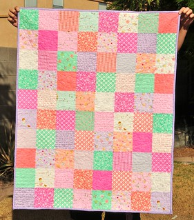 Baby Patchwork Quilt | by Mama Mel Loves