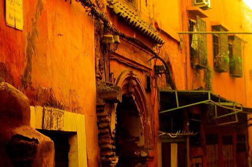 marokko marrakesch h user in der altstadt 10 134 2570 flickr. Black Bedroom Furniture Sets. Home Design Ideas