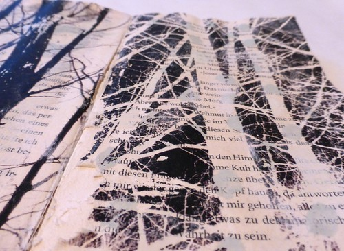 paper back with twigs (detail) | by Ines Seidel