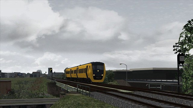 Train Simulator Leeuwarden NS Buffel DM'90