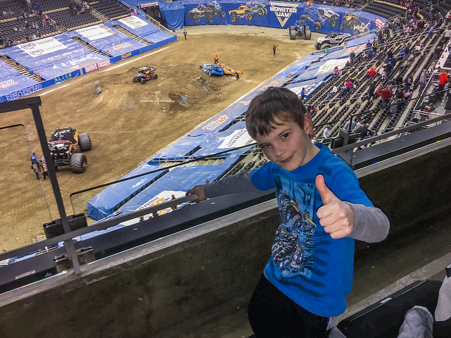 Monster Jam Thumbs Up