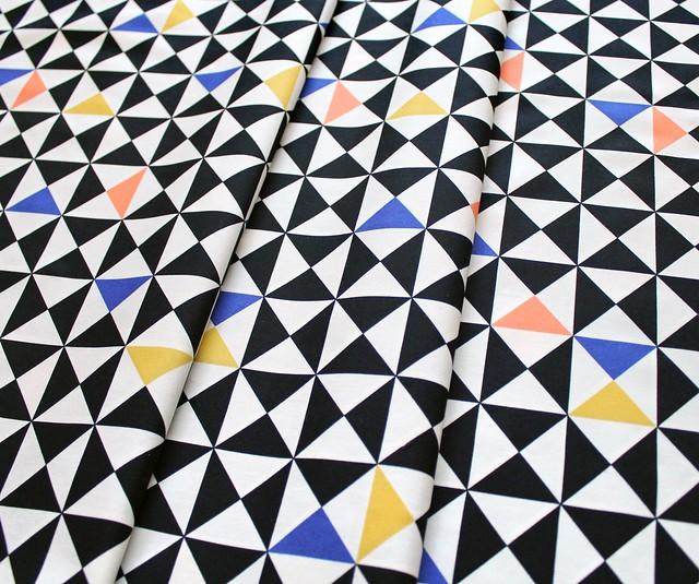 Art Gallery Fabrics Take Shape Random Trig