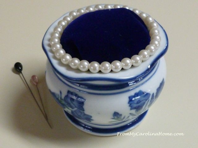 Vintage Upcycle Pincushions ~ From My Carolina Home