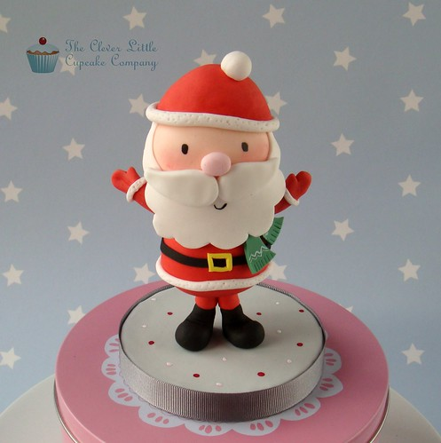 Cake Decorating Father Christmas : Father Christmas Cake Topper Another little figure to ...