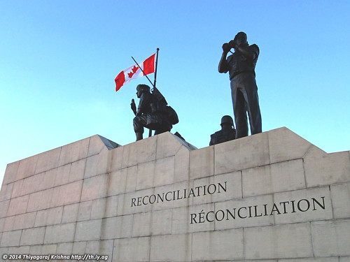Pic 39 of 365: Reconciliation: The Peacekeeping Monument, Ottawa, Canada | by Thiyag Krishna