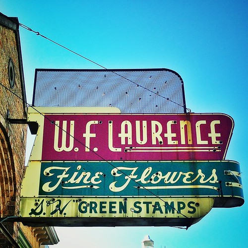 W.F. Laurence Fine Flowers Shop Is Long Gone, But The Swee