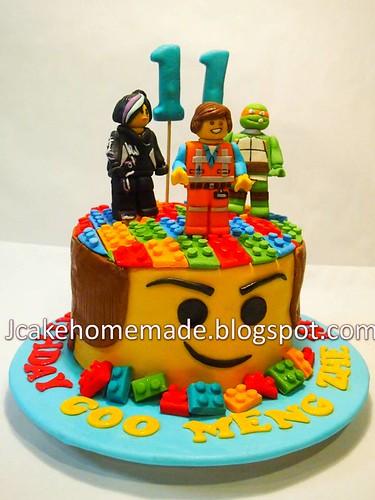 The Lego Movie Birthday Cake Happy 11th Birthday Goo