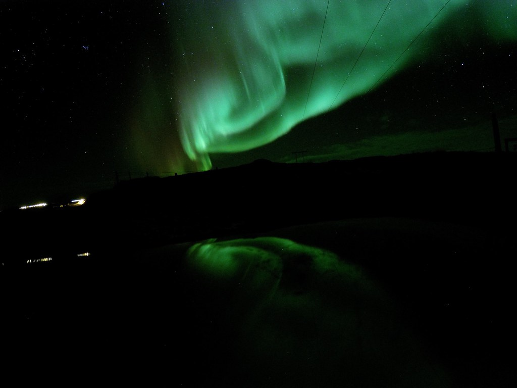 Northern Lights - Iceland, Borganes