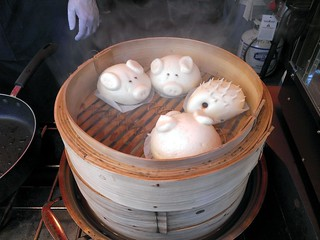 Pig & Hedgehog Steamed Dumplings | by EatsShootsEdits