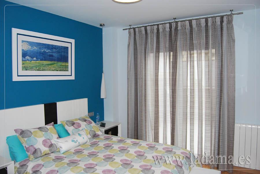 ... Cortinas Dormitorio Moderno Con Barra | By La Dama Decoracion