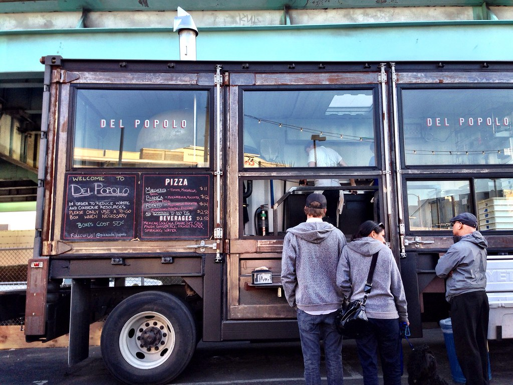 Del Popolo Pizza Truck | Jamie Anderson | Flickr
