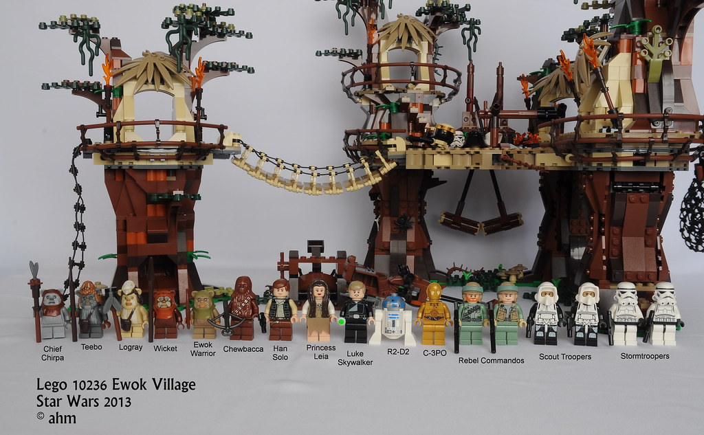 lego ewok village instructions