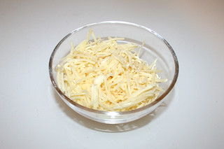 18 - Zutat geriebener Käse / Ingredient grated cheese
